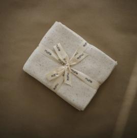 Mushie   deken   confettti ivory