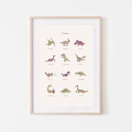 Mushie   Dino Poster