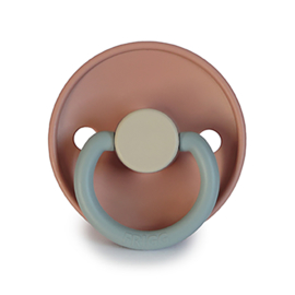 FRIGG Silicone Pacifier | Colorblock (queen)