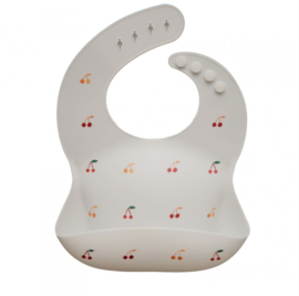 Silicone Bib | Cherries