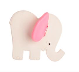 Lanco - Bijtspeeltje Olifant met roze oren