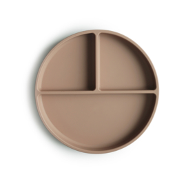Silicone Suction Plate - natural