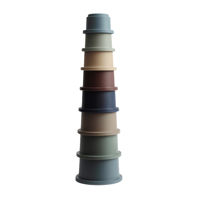 Mushie stacking cups | Forrest