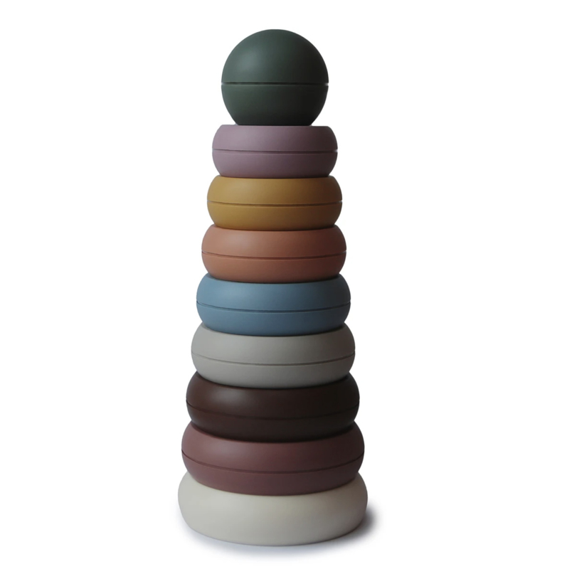 Stacking Ring tower - Rustic