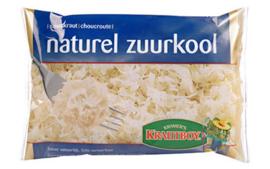 Zuurkool naturel verpakt Per 500 Gram