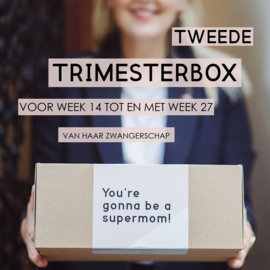 Mom to be box - Tweede Trimester - Luxe