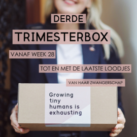 Mom to be box - Derde Trimester - Luxe
