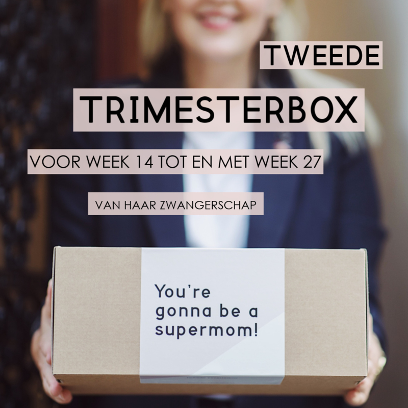 Mom to be box - Tweede Trimester - Uitgebreid
