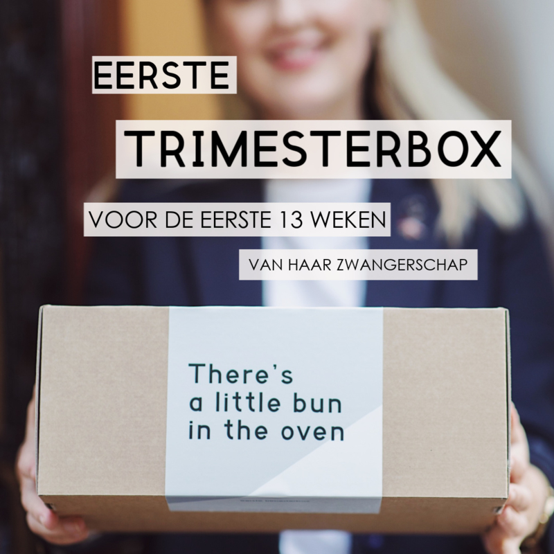 Mom to be box - Eerste Trimester - Uitgebreid