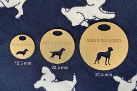 Ronde hondenpenning