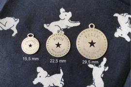 Ronde Stars hondenpenning