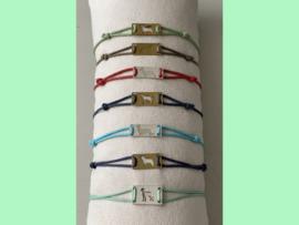 Hondenras armbandje