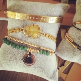 Quote armband