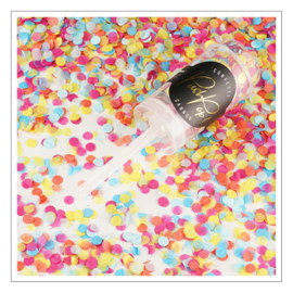 PUSH-POP · MULTICOLOUR TISSUE CONFETTI
