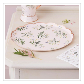BORDJES · FLORAL TEA PARTY · 8ST
