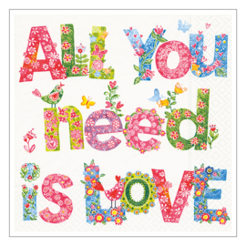 SERVETTEN · ALL YOU NEED IS LOVE