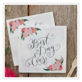 SERVETTEN · BEST DAY EVER · BOHO FLOWERS