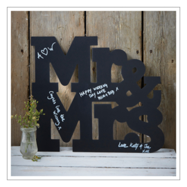 KRIJTBORD · MR & MRS