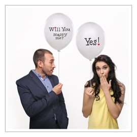 WILL YOU MARRY ME / YES - BALLONNEN · 6ST