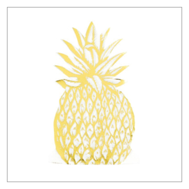 SERVETTEN ANANASVORM · GOLDEN PINEAPPLE
