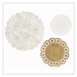 DOILIES SET · PARTY PORCELAIN GOUD