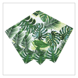 SERVETTEN KLEIN · TROPICAL LEAVES