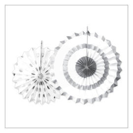 WAAIERS · SET SPARKLING SILVER · 2ST