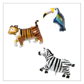 FOLIEBALLONNEN · ANIMAL · SET VAN 3ST