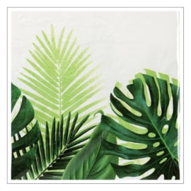 TAFELLAKEN PAPIER · TROPICAL LEAVES