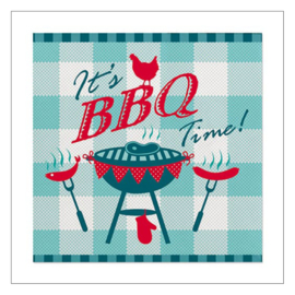 SERVETTEN KLEIN · IT'S BBQ TIME