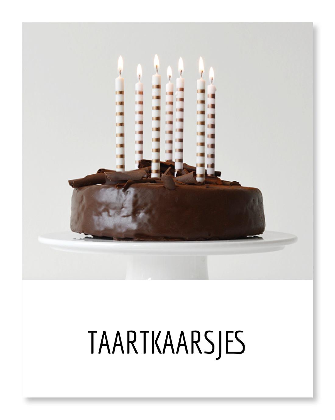 taart  kaarsjes  feest  verjaardag
