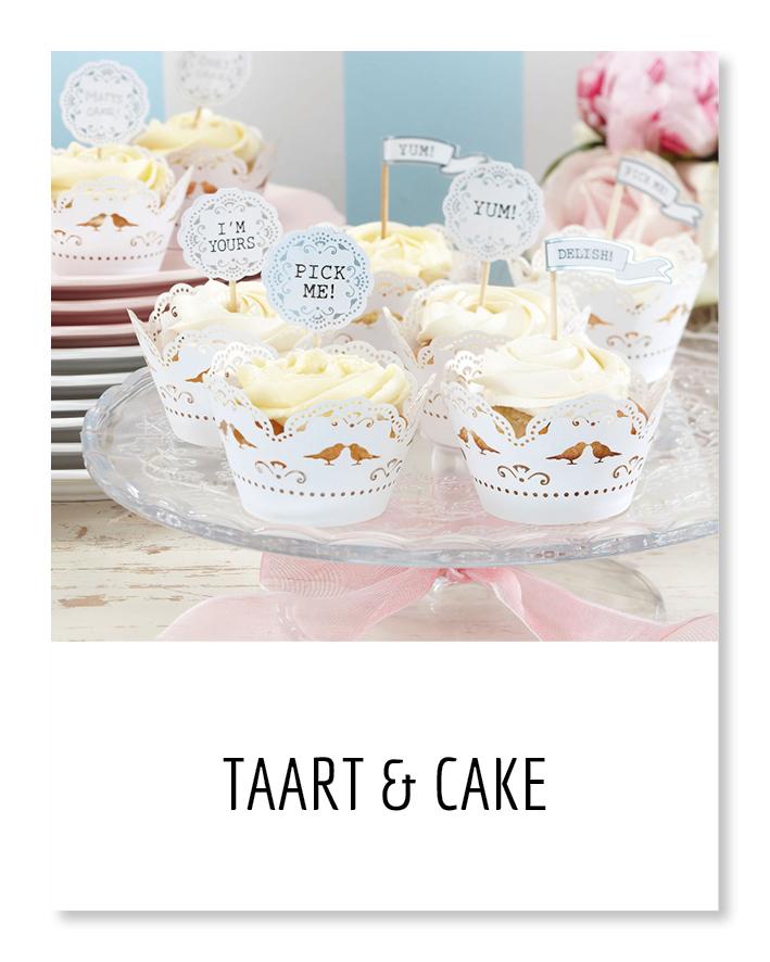taart cupcakes cake feesttaart