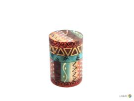 Nobunto Giftbox met 1 grote ronde stompkaars Makini
