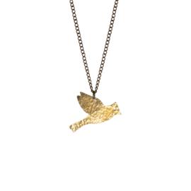 Coralie Bird Flying Necklace