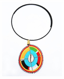Ketting Masai Choker Shell