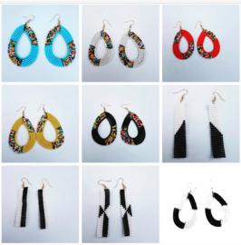 Masai Beads oorbellen