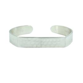 Longitude Cuff Silver