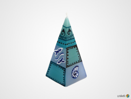 Nobunto Giftbox met 2 Pyramide kaarsen Samaki