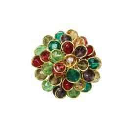Chrysanthemum Ring Multicolour