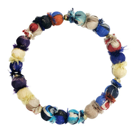 Sari Silk Beaded Sonnet Bracelet
