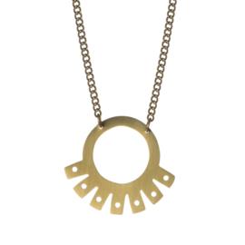 Inca Fan Necklace