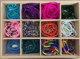 Armbandjes Masai Beads in verschillende kleuren