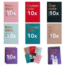 Happy Invites easy start (7 x 10 los, 5 x 6 MIX, 5 x 6 PARTY) (In Dutch)