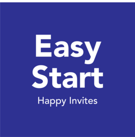 Happy Invites easy start (7 x 10 los + 10 setjes van 6)