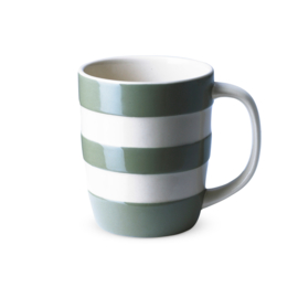 Cornishware Colors mok / beker  legergroen