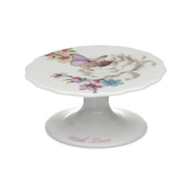 Accessorize cupcake stand vlinder roze