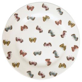 Greengate ontbijtbord Maisie white vlinder
