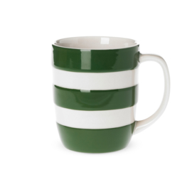 Cornishware Colors mok / beker groen wit