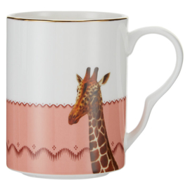 Yvonne Ellen mok giraf