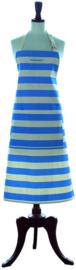 Cornishware Cornishblue schort L blauw